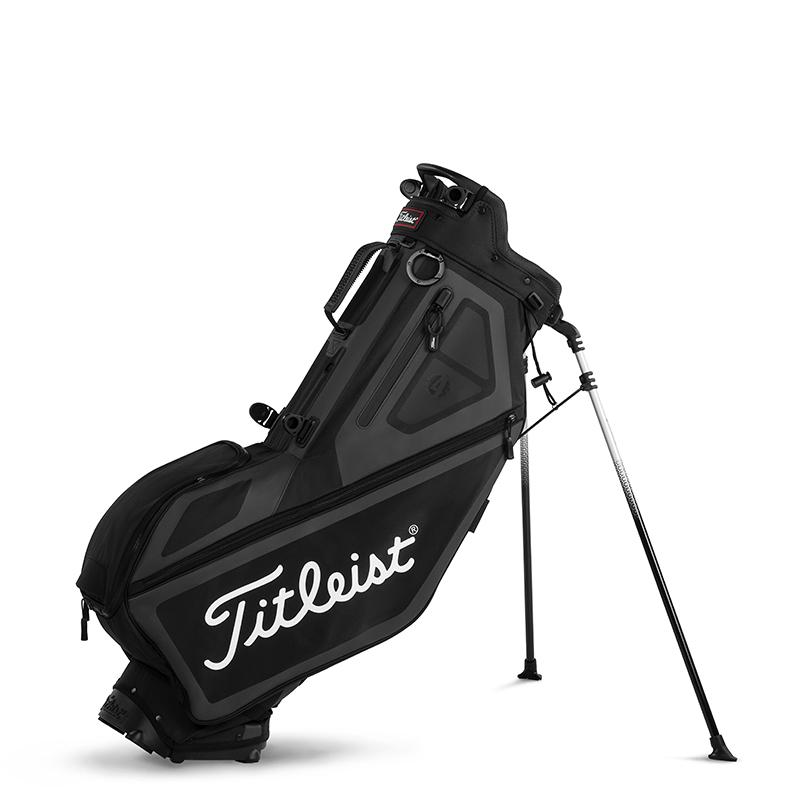 Players 4 Stand Bag  – Black