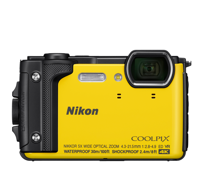 COOLPIX W300 – Yellow