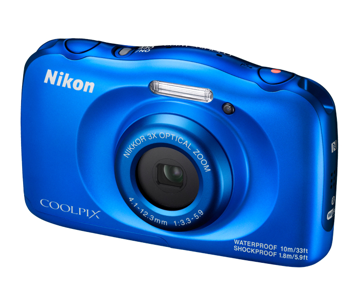 COOLPIX W100 – Blue