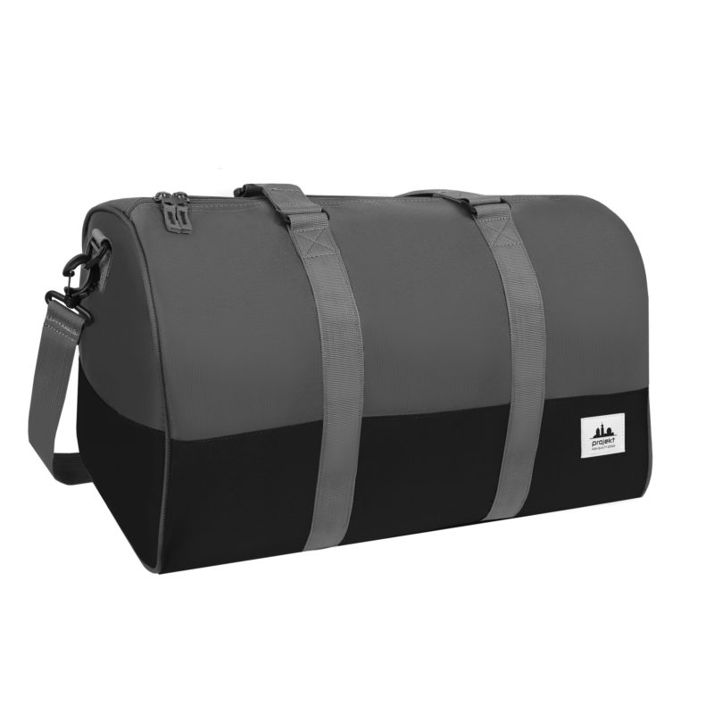 Kaptain Duffel – Black / Charcoal