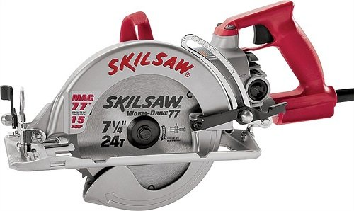 7-1/4 In. Magnesium Worm Drive Saw