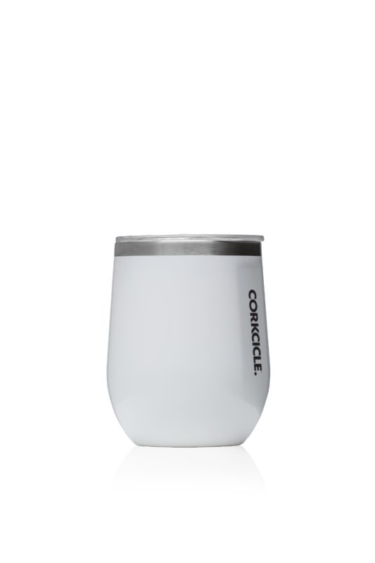 Classic Stemless – Gloss White