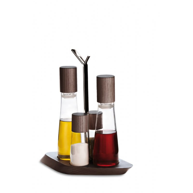 Trattoria 4-Piece Oil Cruet Set