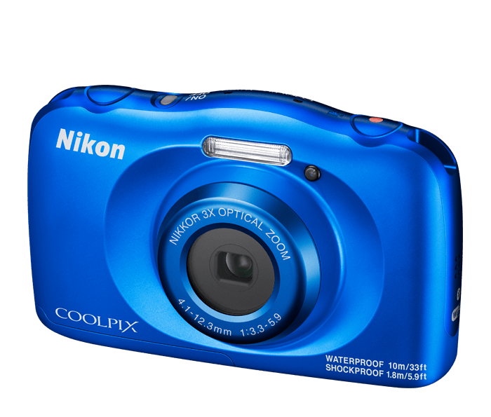 COOLPIX W150 – Blue